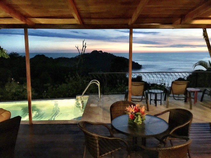 Ocean/Sunset View. Private home, Breakfast/central