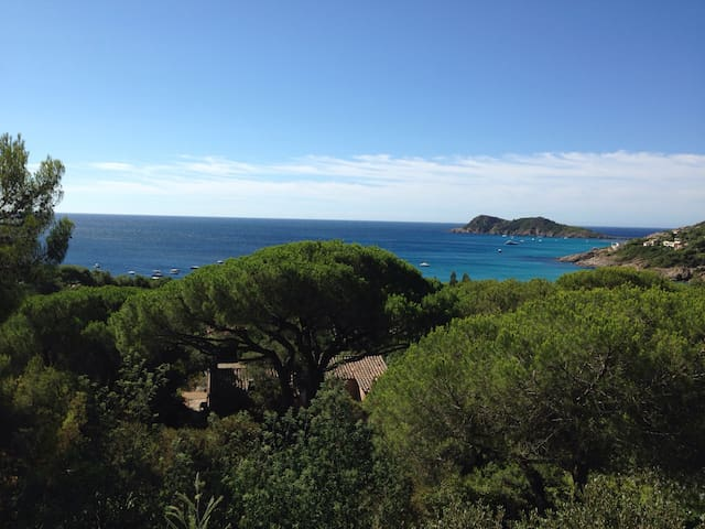 Villa Escalet vue sur mer unique - Ramatuelle - Hus