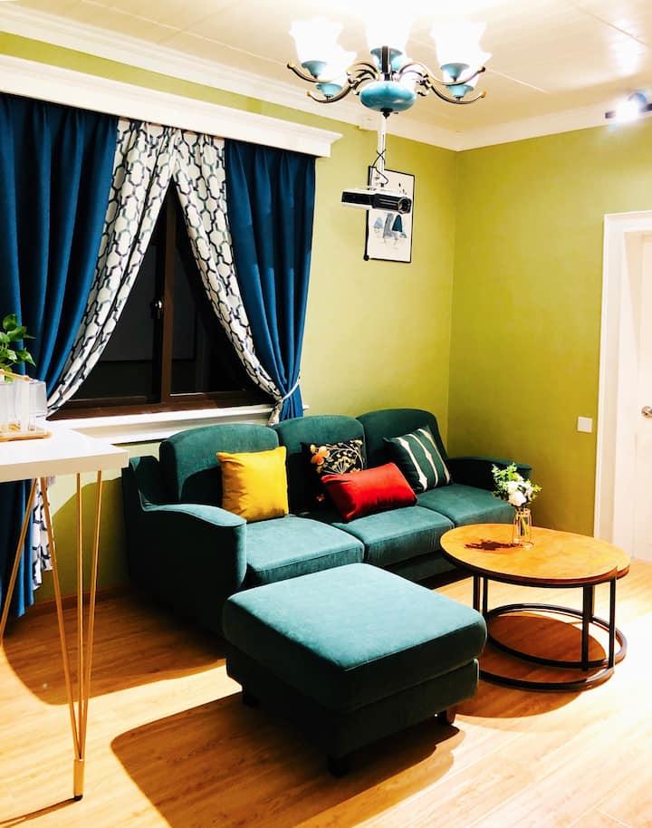 乌镇东栅景区旁100米暮光小筑,温馨小套房,一家人的选择