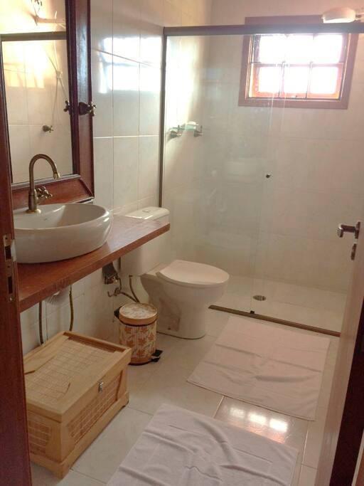 Banheiro da Suíte Araucária