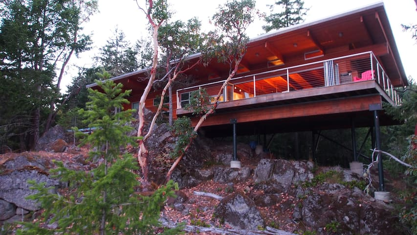 East Sooke Hillside Retreat