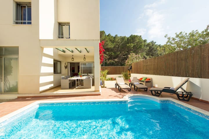 Duplex private pool Ibiza WIFI close to beach
