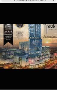 Apartment 2br the peak resident Tunjungan plaza5
