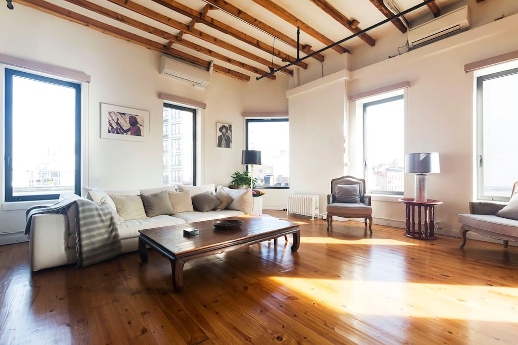 Amazing 2BR Loft In Heart Of SOHO Lofts For Rent In New York New York Un
