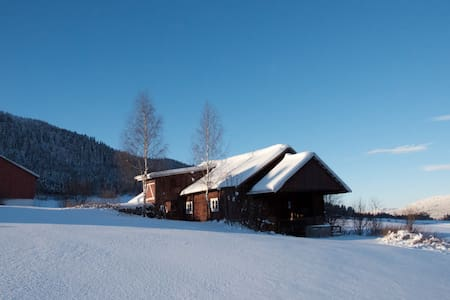 The Yellow Room South, Bjerke farm - Lillehammer