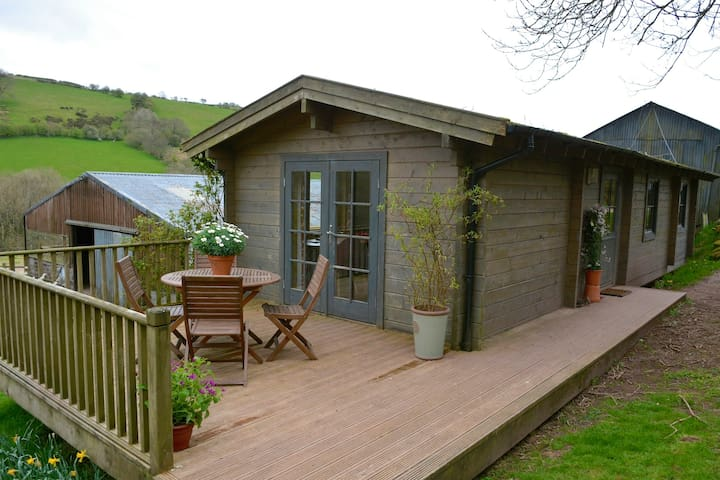 The Log Cabin on a welsh hill farm - Powys - Cabin