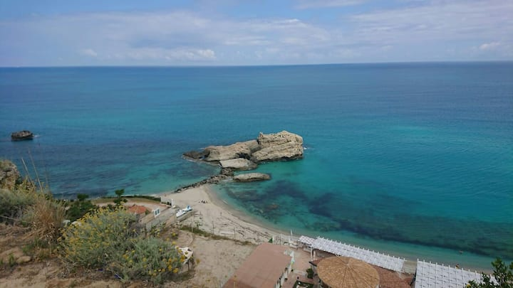 Appartamento in villa a Tropea 350 metri dal mare