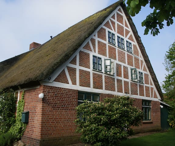 Haus zum Deich  - Ferienwohnung im Alten Land - Hollern-Twielenfleth