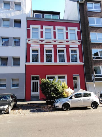 Ruhiges Appartment in Düsseldorf-Unterbilk