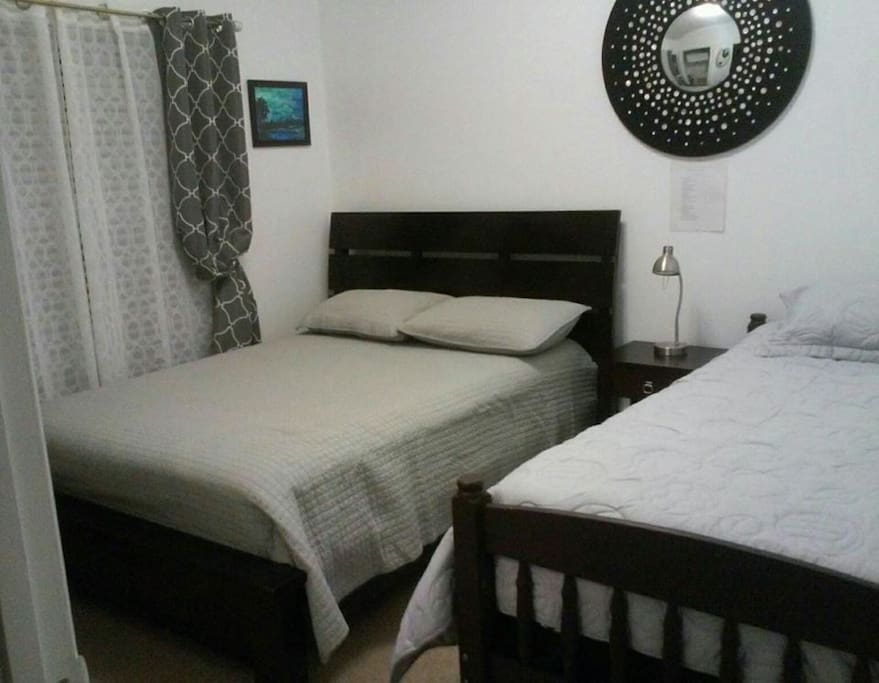 Nice and clean comfortable beds !