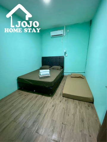 JOJO HOME 1 ROOM 1 BEDROOM  FRONT BCS MALL 2-3 PPL