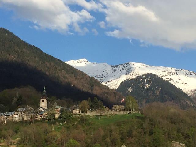Tranquilité, charme, vue montagnes