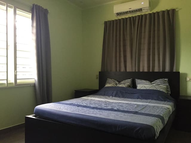 Master bedroom met airco