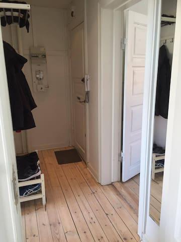 Hyggelig lejlighed i stille omgivelser - Kopenhaga