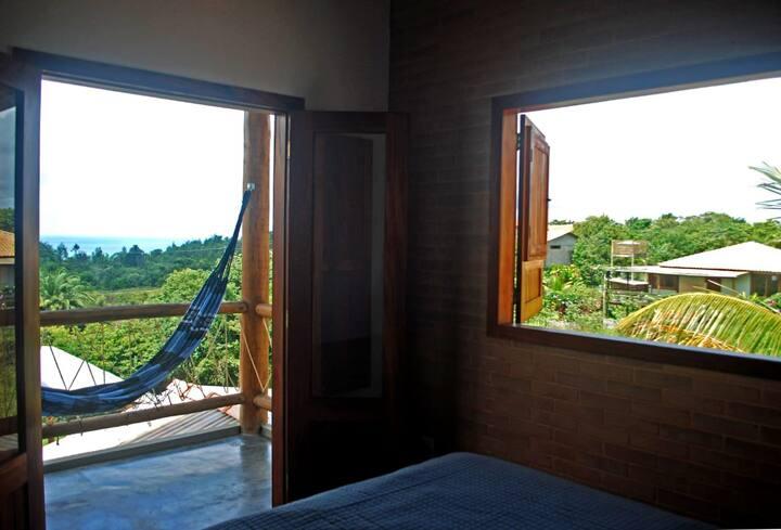 Casa com vista para o mar de Serra Grande-BA
