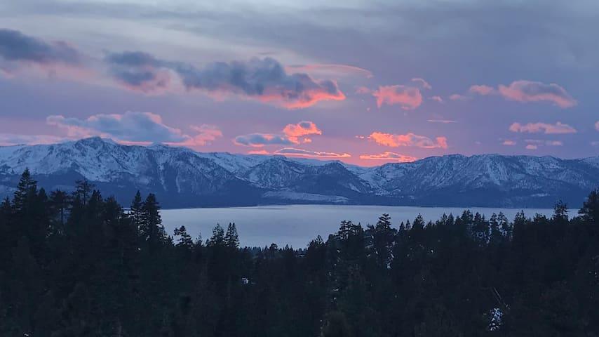 *Modern Mountain Top Ski Stop* Panoramic Views