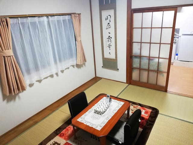 Japanese traditional apartment with 5 min to sta