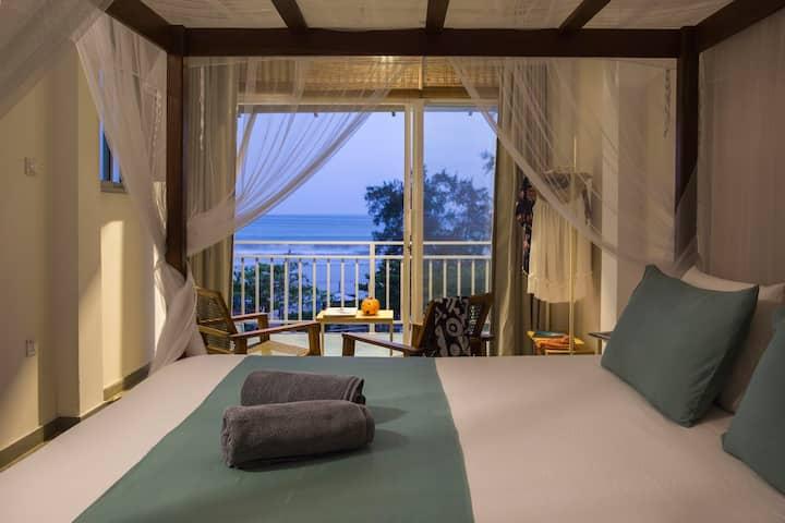 Art Deco Ocean View Surf Boutique Hotel Weligama