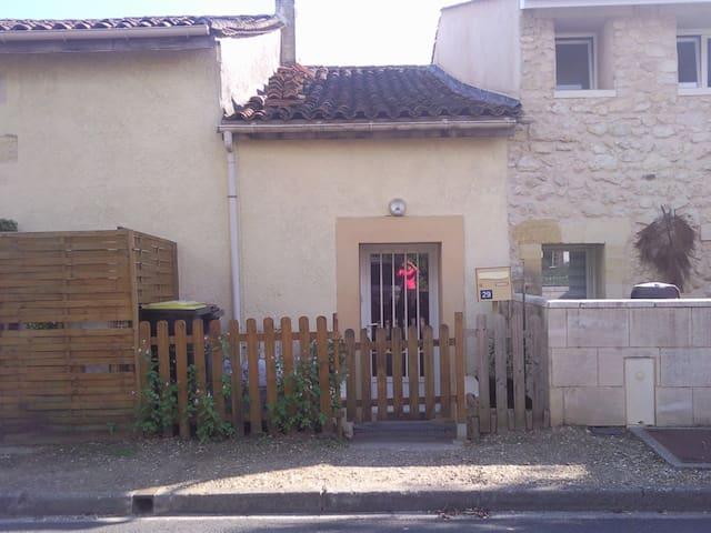 T1 duplex dans maison pierre - Tabanac - Departamento