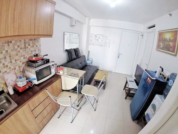 Bassura City 2 Bedrooms, above Mall, Free WIFI