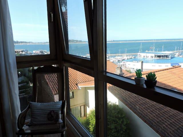 Piso vistas panorámicas al mar, junto Golf Pedreña - Pedreña - Wohnung