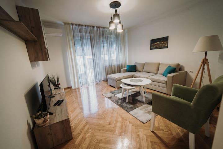 Modern apartment (50m2) in the center of Novi Sad
