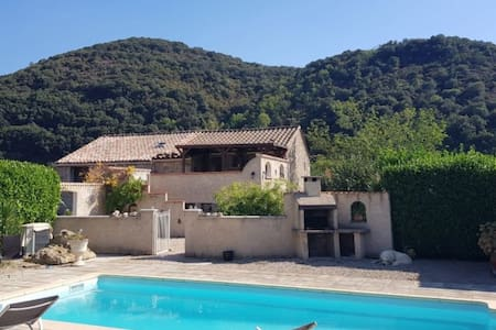 Mountain Gîte with Private Pool, Olargues