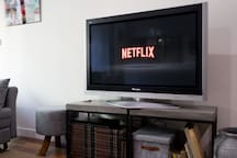 Settle back with Netflix and Wifi.