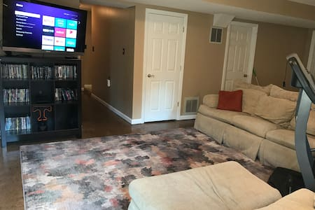 Comfy Basement Studio in West Knoxville