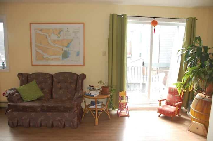 Comfy, sunny and quiet apt, perfectly located - Ville de Québec - Квартира