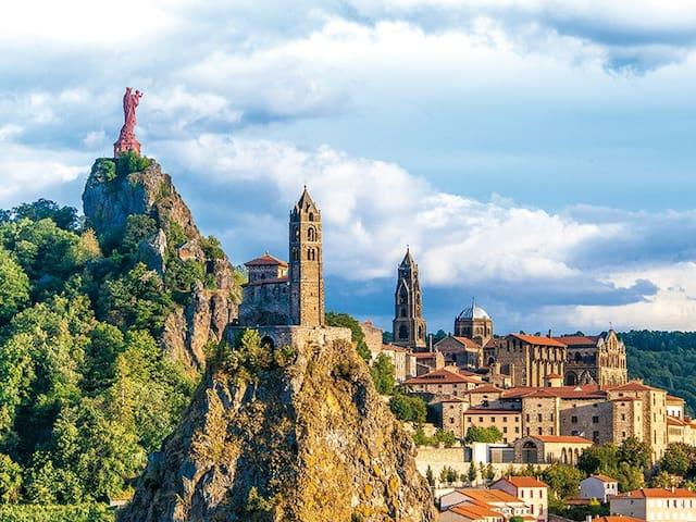 séjour au puy en velay en cité historique - Le Puy-en-Velay - Apartment