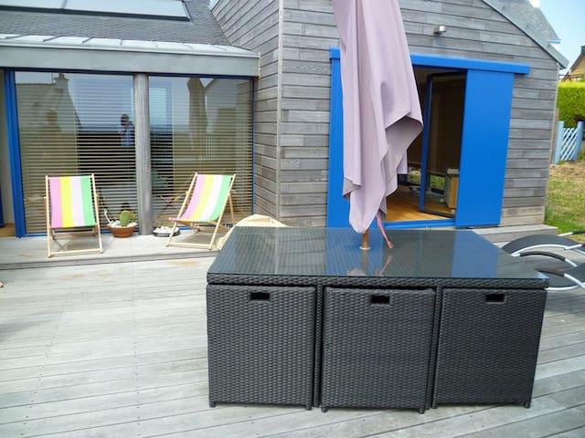 Doëlan : charmante petite maison face à la mer