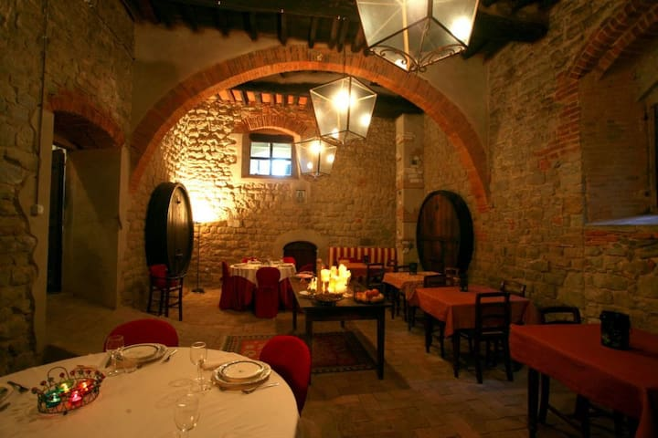 wonderful rooms in historical villa - Arezzo - Villa