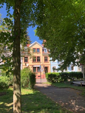 Wohnen im Stadtpark Pforzheim direkt an der Nagold