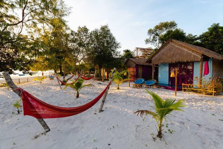 Ocean-front Beach house Koh Rong Samloem Cambodia