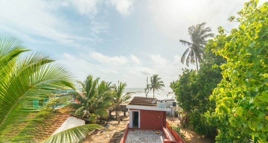 Homestay with sea view, anjuna beach