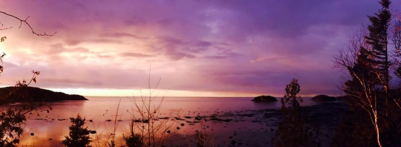 Le berceau de la mer - Rimouski - Chatka w górach