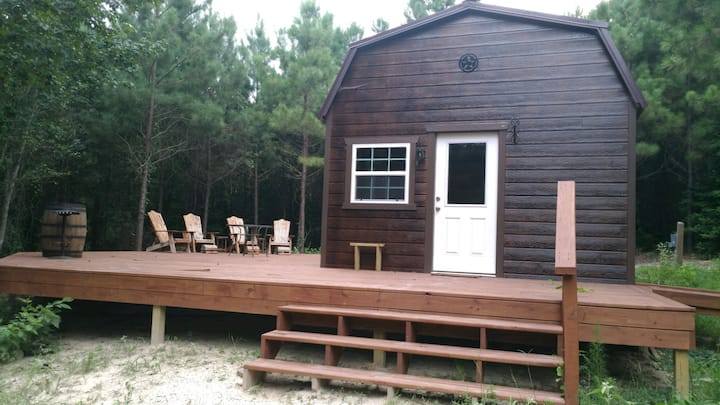 Cabin in the Woods East Texas near Gilmer, Texas
