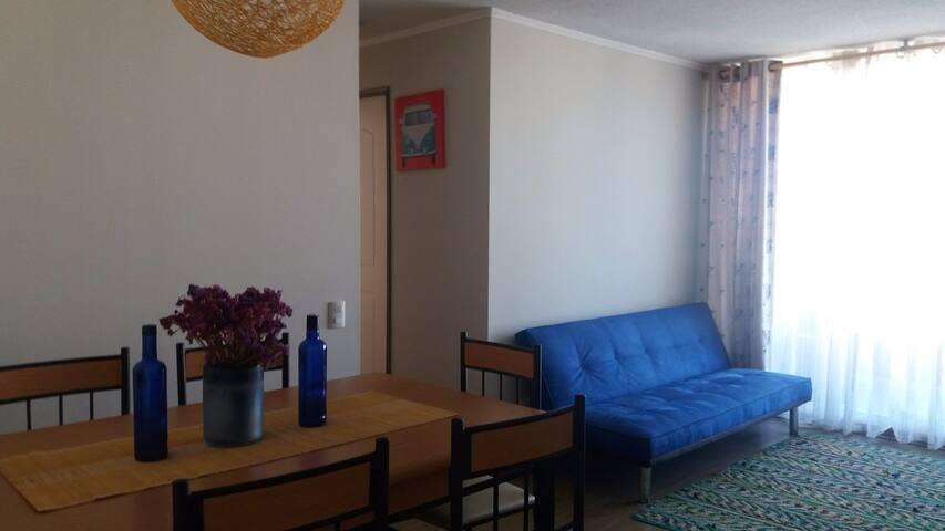 Habitación privada en acogedor departamento - Valdivia - Leilighet