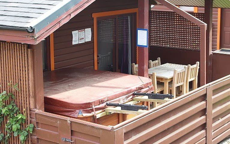 Drummohr lodge with Private hot tub - East Lothian - Vakantiewoning