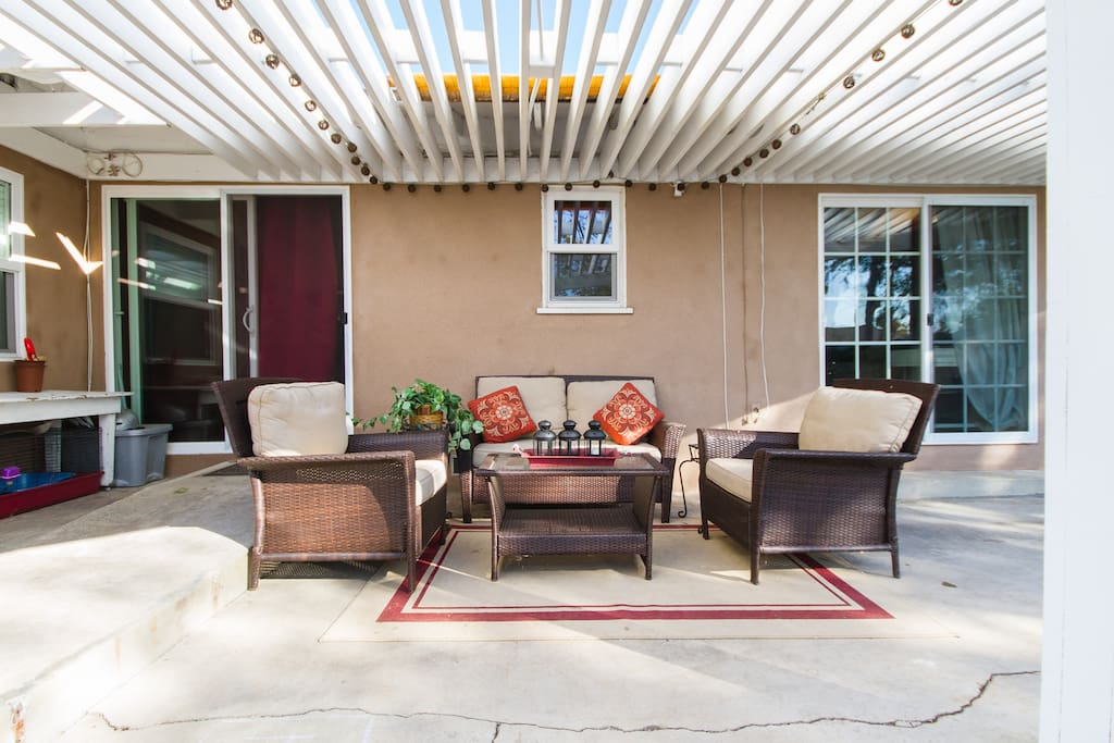 The slider on the right, is the entrance to your private oasis.