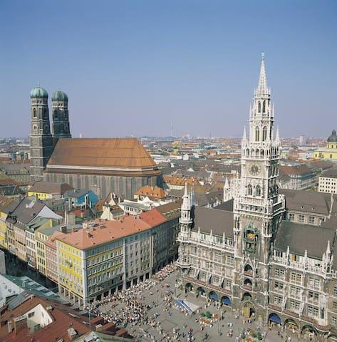Gallery: Munich Marienplatz / Marienplatz München (c) und Freigabe durch Landeshauptstadt München REF A/W FB 4 Abt III FG 4