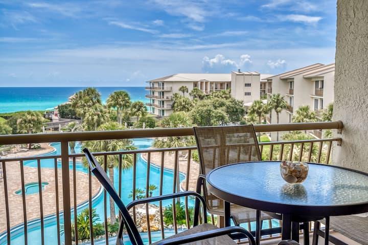 """Show Me Seacrest"" High Pointe Resort Gulf View Seacrest Beach Condo"