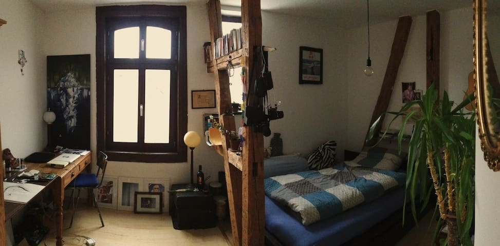 Cozy Vintage Room in Flatshare Appartment - Weimar - Departamento