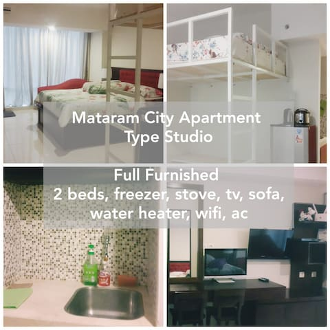A best deal of 2 beds Studio apartment