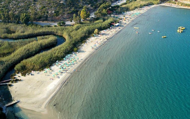 Apartment by the beach,East Crete - Beach Almyros - Appartement