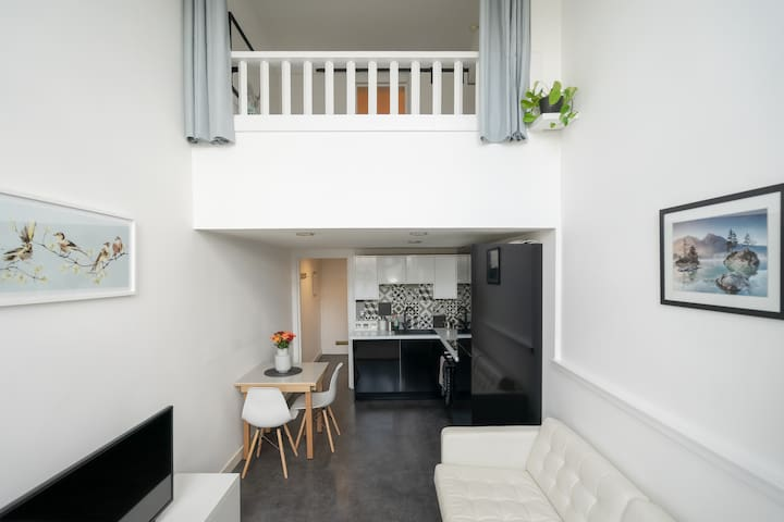 Bright Central One Bedroom Mezzanine Apartment