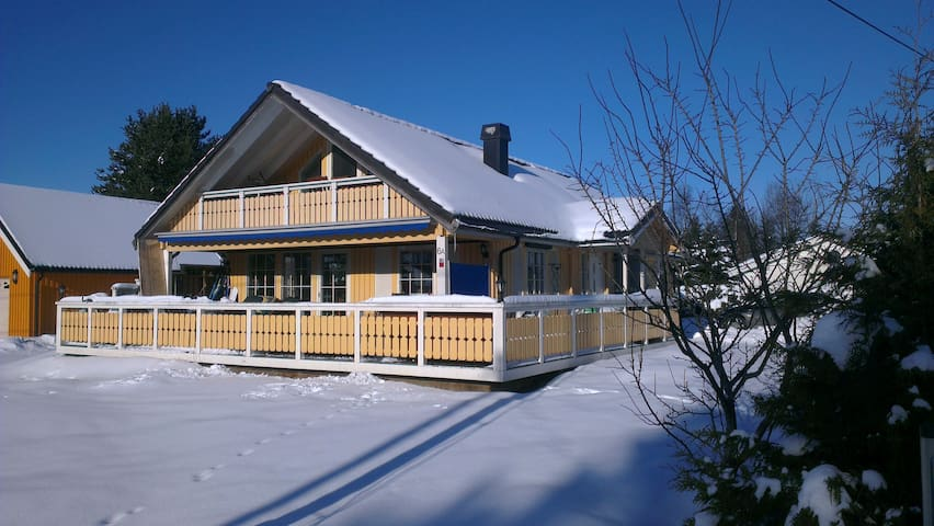 Real Norwegian house