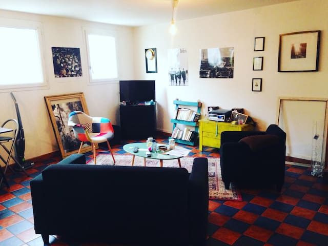 Chambre privé dans charmant appart - Le Havre - Lägenhet