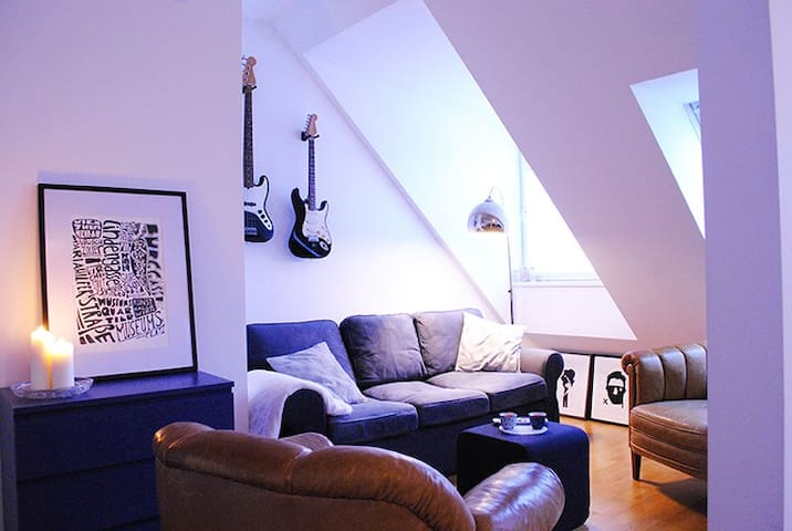 Central air-conditioned rooftop apartment - Wien - Apartment